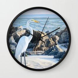 Caspersen Beach Wall Clock