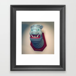 Taxidermy 2: Yeti Framed Art Print