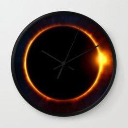 Total Solar Eclipse Wall Clock