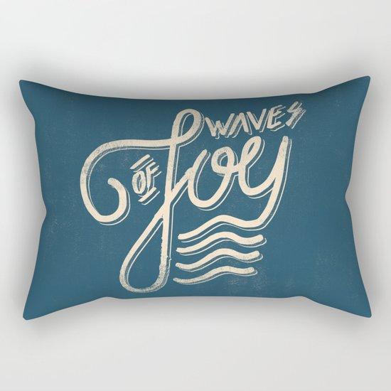 Waves of Joy Rectangular Pillow