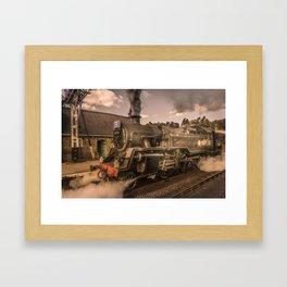 Whitby Express Framed Art Print