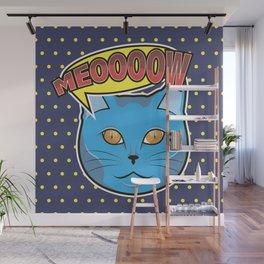 Meow Pop Wall Mural