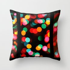 Too Much Eggnog. Throw Pillow