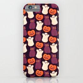 Halloween Marshmallows iPhone Case