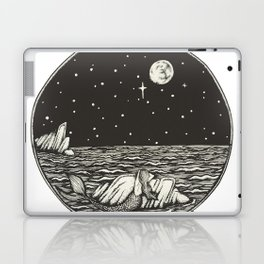 Mermaid Snow Globe Laptop & iPad Skin