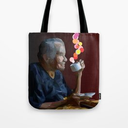 old women Tote Bag