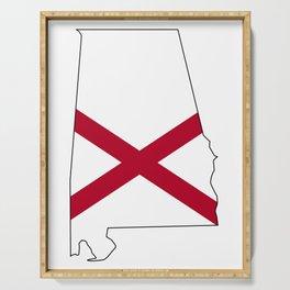Alabama Love Serving Tray