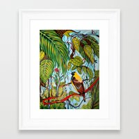 lonely Framed Art Prints featuring Lonely by Felicia Atanasiu