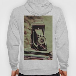 There's something about cameras, book and travel... Hoody