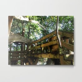 Tree house @ Aguadilla 4 Metal Print