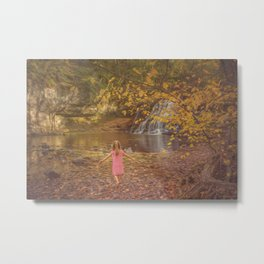 Fall Wonderland Metal Print