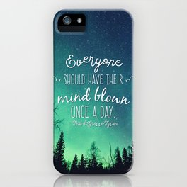 Inspirational Poster - Neil deGrasse Tyson Quote iPhone Case