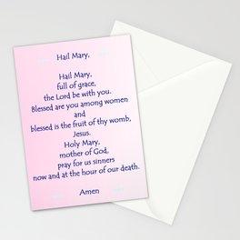 Hail Mary Stationery Cards