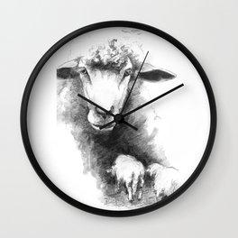 Come Baaa'ck Wall Clock