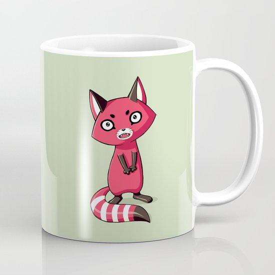 Shy Raccoon Mug