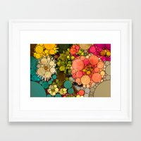 discount Framed Art Prints featuring Perky Flowers! by Love2Snap