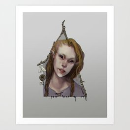 Hedge Witch 1 Art Print