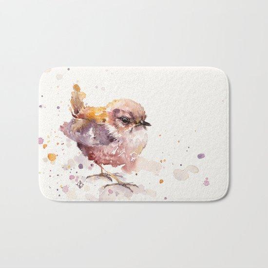 Fluffy Le Wren Bath Mat