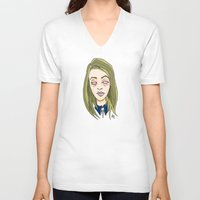 coven V-neck T-shirts featuring Blinded For The Coven by Dan Paul Roberts