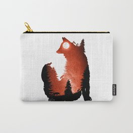 In the Swaying Forest Trees Carry-All Pouch