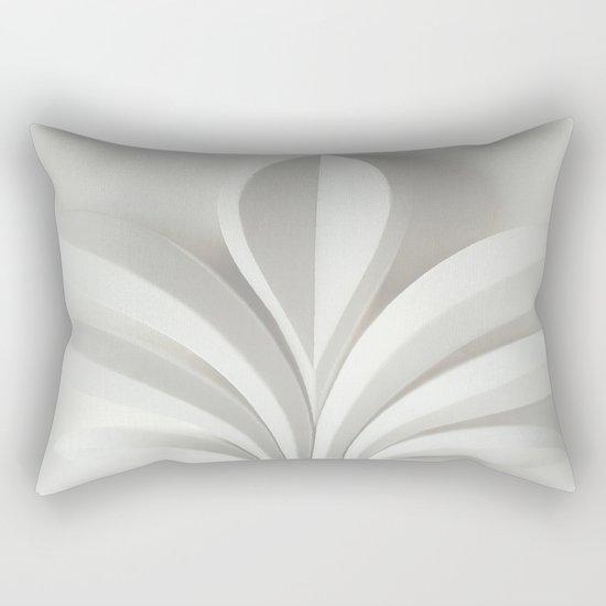 White sculpture Rectangular Pillow