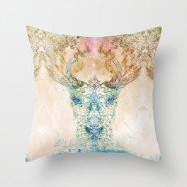 DeerTree - Medicina Cosmic Shoko Throw Pillow