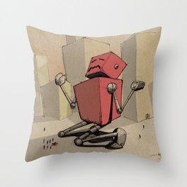 Why Bot Throw Pillow