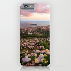 Azorean town at sunset iPhone 6s Slim Case