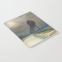 Charles Guilloux - L'allée d'Eau - Surreal Dreamscape Notebook