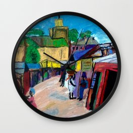 Interpreting Lois' Eglise Wall Clock