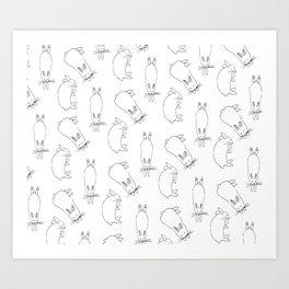 Bunny-Love Art Print