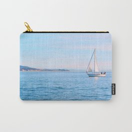 Blue Sailing Carry-All Pouch