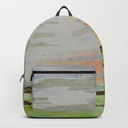 Landscape clouds Backpack