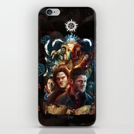 Family Don't End with Blood iPhone Skin