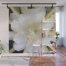 White Epiphyte Wall Mural