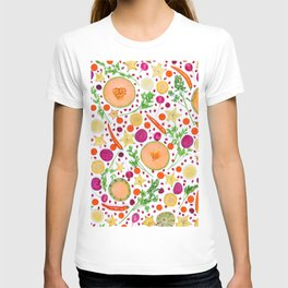 Fruits and vegetables pattern (19) T-shirt