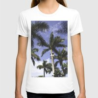 palms T-shirts featuring Palms by Chrissy Jenks