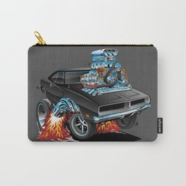 Classic 69 American Muscle Car Cartoon Carry-All Pouch