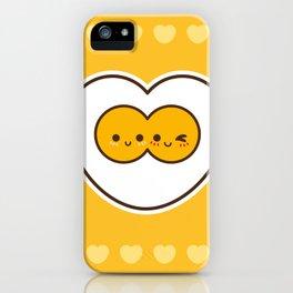 Egg Love iPhone Case
