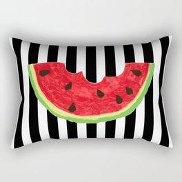 Cool Watermelon Rectangular Pillow
