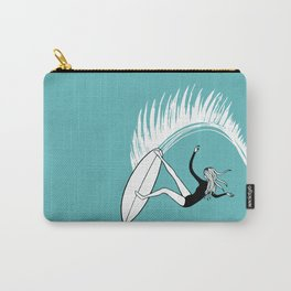 Surfer Girl Slice Carry-All Pouch