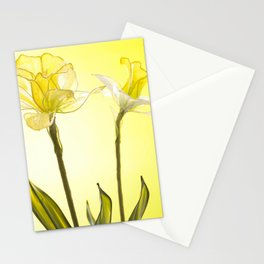 Yellow Botanical Summer Blossom Stationery Cards