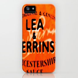 Worcestershire Sauce - by Frankenberg iPhone Case