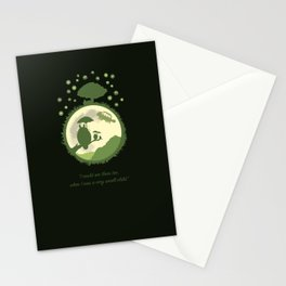 The Neighbours & The Moon Stationery Cards