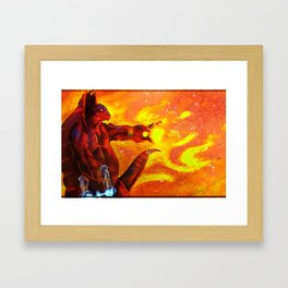 Mega Turtle Framed Art Print