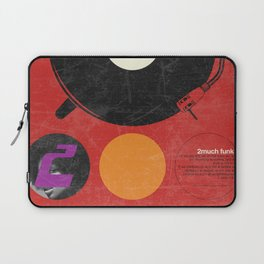 2 much Funk Laptop Sleeve