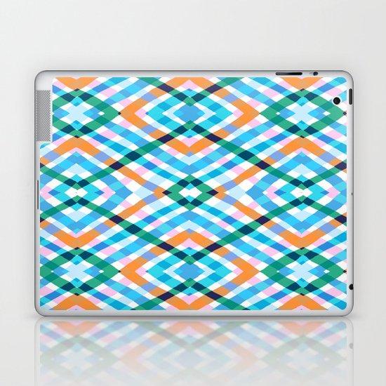 The rustic link based on tenun ikat Laptop & iPad Skin