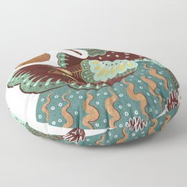 A Partridge In A Pear Tree II Floor Pillow