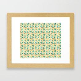 KT Damsel Wallpaper Framed Art Print