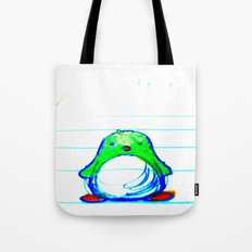 Radioactive Penguin Tote Bag
